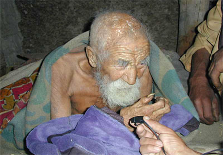 Indian Man Claims He's 179 Years Old
