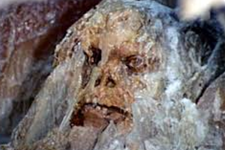 NEPAL: FROZEN CAVEMAN DISCOVERED IN HIMALAYA
