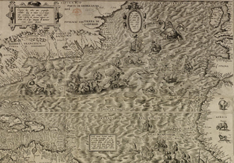 Map Of America Before Columbus.Columbus Carried Map On America Before His Discovery Covert