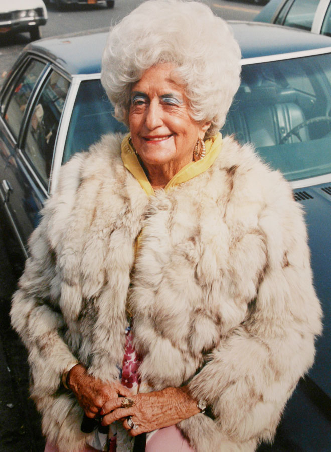 Old Women In Fur 25