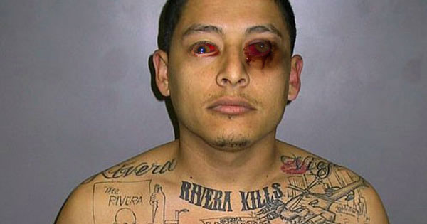 L.A. Gang Member Goes Blind After Tattooing Own Eye Balls