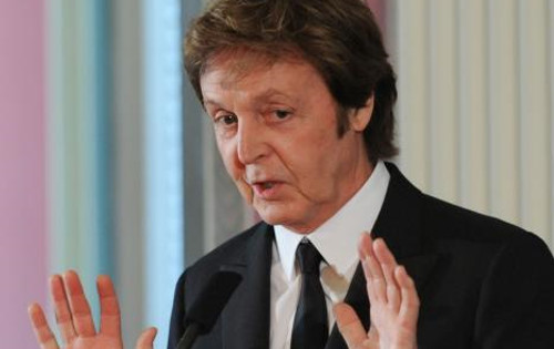 Sir Paul looked visibly tired and irritated during the press conference, appearing even agressive at times.