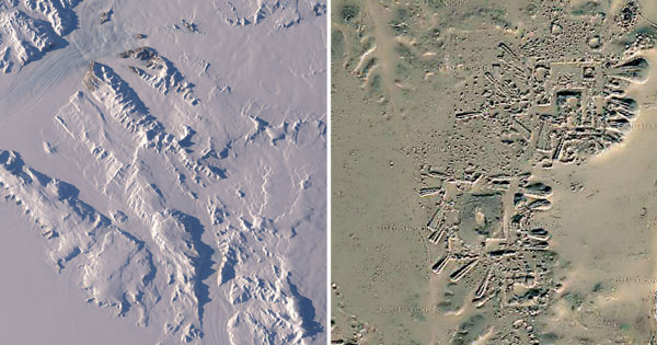 Antarctica: NASA Images Reveal Traces of Ancient Human ...