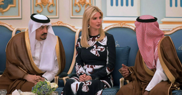 Prince Mohammed bin Salam offered Ivanka Trump 100 camels to spend a night with her when she visited Saudi Arabia in