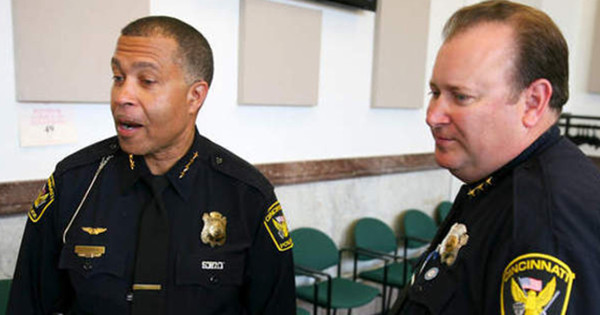 Officer Elliot Brown and Douglas Thompson of the Cincinnati Police Department admit they'd never heard of such a case in all their years in the police force.
