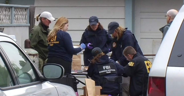 Dozens of federal agents were still collecting and identifying jars more than six hours after their arrival.