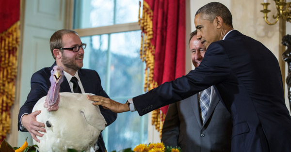 """For decades, the """"pardon of the turkey"""" has been a tradition respected by all presidents."""