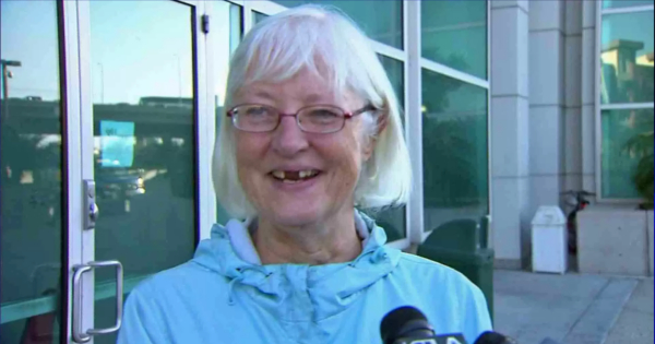 "The plaintiff, 58-year old Margaret Franklin, was delighted by Mr. Trump's arrest, saying he was ""clearly a pervert"" and that she would ""never date a black man""."