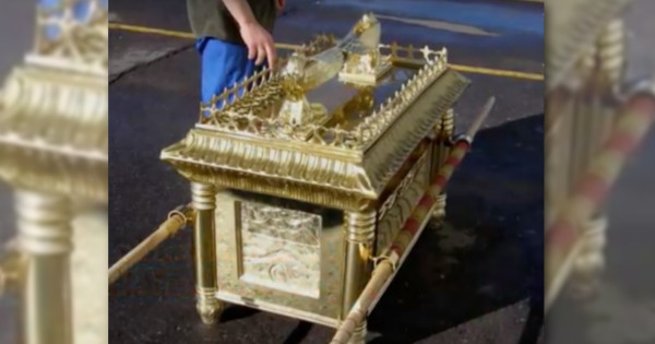 Ware County police believe Larry Fritz, 54, a carpenter and Bible enthusiast, built what is believed to be a homemade replica of the ark of the covenant to set the victims' house on fire.